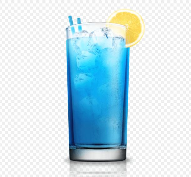 Коктейль BLUE LAGOON (ГОЛУБАЯ ЛАГУНА).