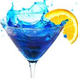 Коктейль BLUE SPLASH (СИНИЕ БРЫЗГИ)