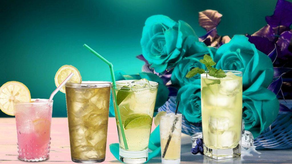 Лимонады и воды.