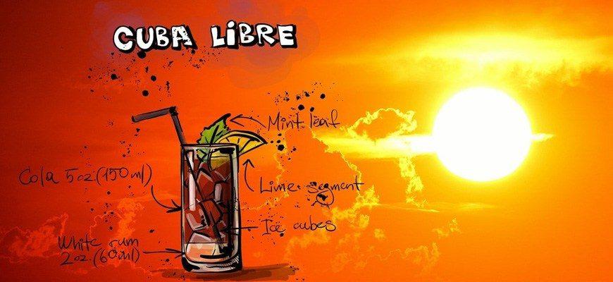3 самых популярных кубинских коктейля
