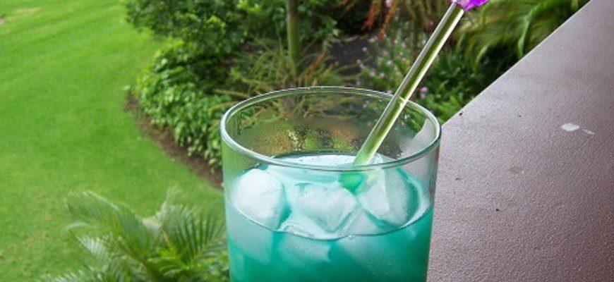 Коктейль BLUE GRASS (ГОЛУБАЯ ТРАВА)